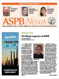 ASPB News May/June 2017